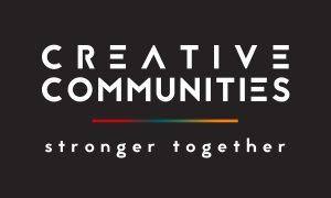 Creative Communities [Grey Strapline]